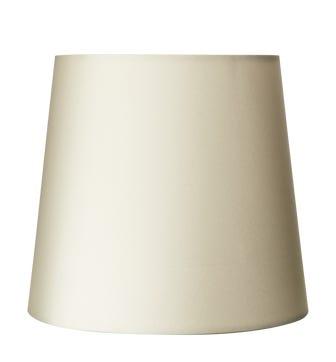 14cm Mini Cone Cotton Lampshade - Off White