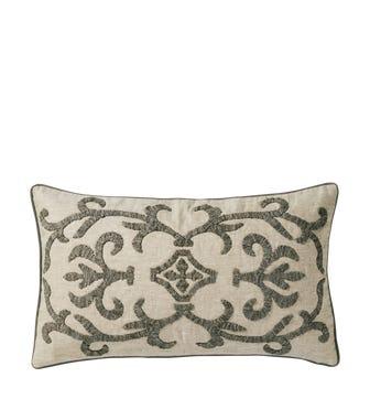 """23.5x14"""" Gawain Pillow Cover - Natural/Gray"""