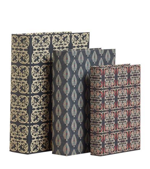 Set of 3 Cosmati & Ocellus Box Files