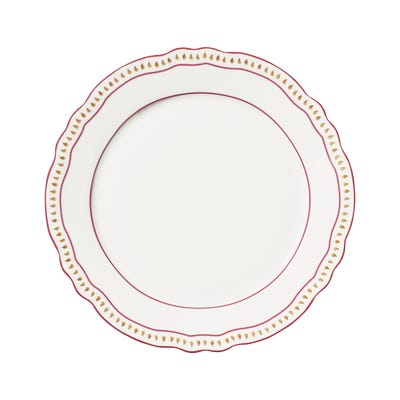 Set of 4 Coquille Starter/Side Plates - White