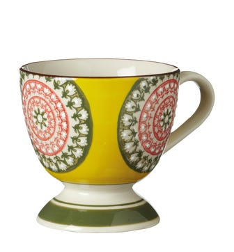 Set of 4 Florya Mugs - Multi