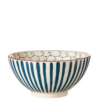 Set of 4 Kintaro Bowls - Indigo