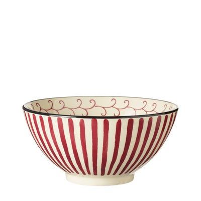 Set of 4 Kintaro Bowls - Cochineal