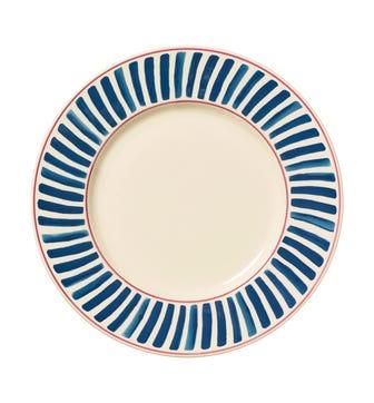 Set of 4 Kintaro Dinner Plates - Indigo