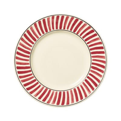 Set of 4 Kintaro Dinner Plates - Cochineal