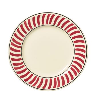 Set of 4 Kintaro Side Plates - Cochineal
