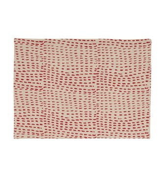 Set of 4 Nostell Dots & Dashes Reversible Placemats