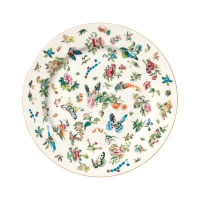 Set of 4 Roseraie Dinner Plates - Multi