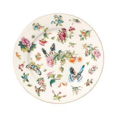 Set of 4 Roseraie Side Plates - Multi