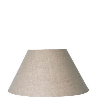 46cm Empire Linen Lampshade - Natural
