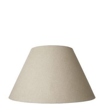58cm Empire Linen Lampshade - Natural