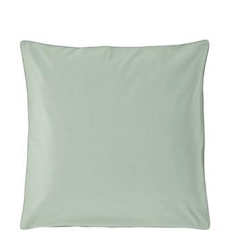 Plain Silk Cushion Cover, Large - Pale Apple