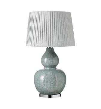 Calabash Table Lamp - Pebble