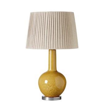 Grenadilla Table Lamp - Saffron