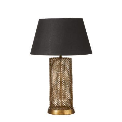Galahad Table Lamp - Antique Gold