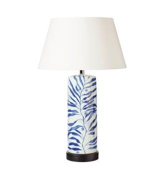 Biddulph Table Lamp - Blue/White