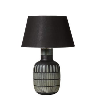 Scarab Table Lamp - Charcoal