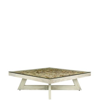 Apolonia Coffee Table - Washed Grey