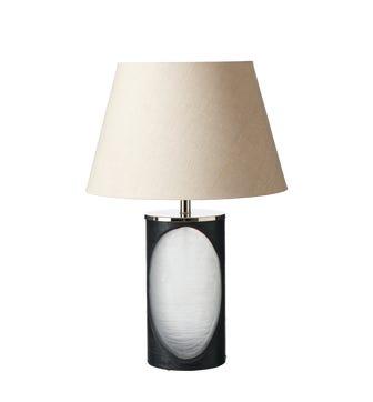 Istina Lamp & Shade - Black/Gold
