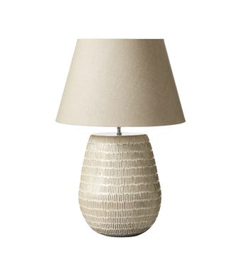 Kinzig Table Lamp - Taupe