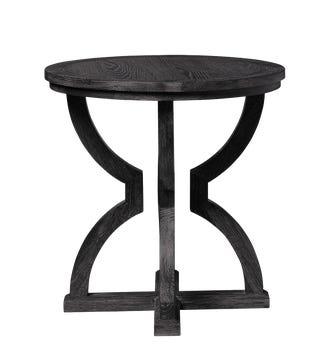 Kaishu Side Table - Black