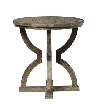 Kaishu Side Table - Watered Grey