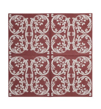 Cosmati Napkins Set of Twenty - Red Garnet