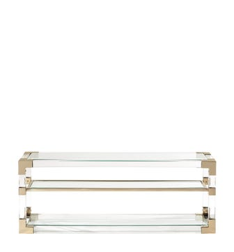 Pei Console Table - Clear