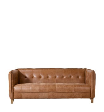Abbotsford 3-Seater Sofa - Aged Tobacco