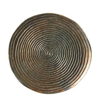Aglovale Wall Lamp - Burnish Metal