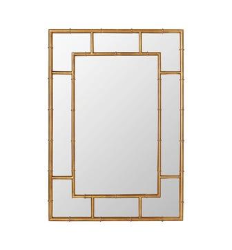 Airi Mirror - Antique Gold