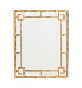 Alcaeus Mirror - Antique Gold