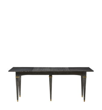 Alfred Extendable Dining Table - Ebonised Oak