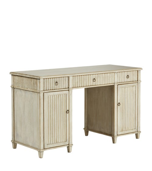 Alvsborg Desk - Grey Wash