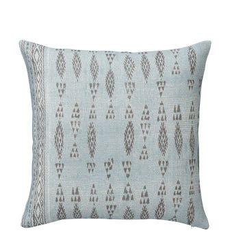 Amezrou Cushion Cover (51cmSq) - Pale Blue