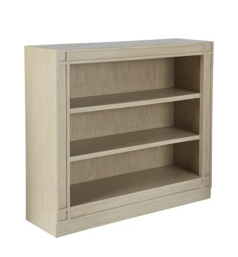 Ashmolean Classic Wooden Bookshelves, Low - Natural