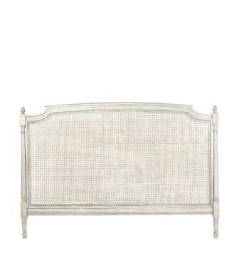 Astrid Headboard, King - Flannel Grey