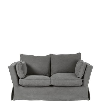 Aubourn 2-Seater Sofa Cover - Charcoal