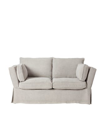 Aubourn 2-Seater Sofa Cover - Silver Grey