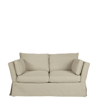 Aubourn 2-Seater Sofa Cover - Natural