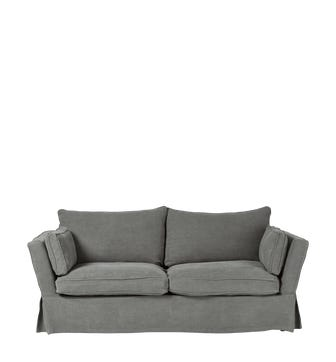Aubourn 3 Seater Sofa Cover - Charcoal