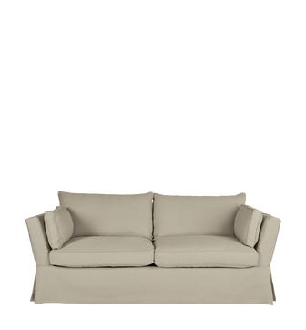 Aubourn 3 Seater Sofa Cover - Natural