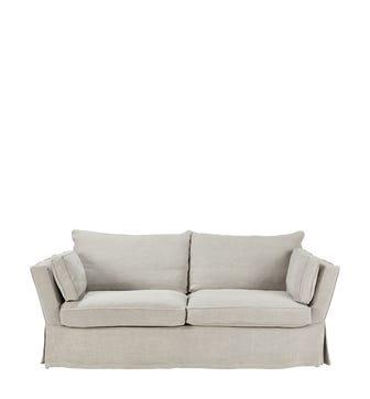 Aubourn 3 Seater Sofa - Silver Grey