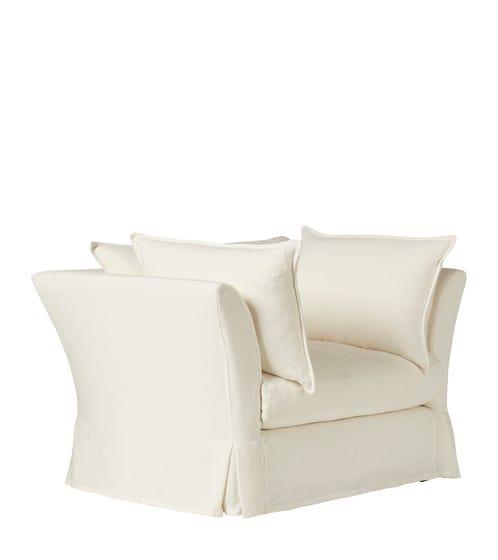 Avitus Armchair - Linen White