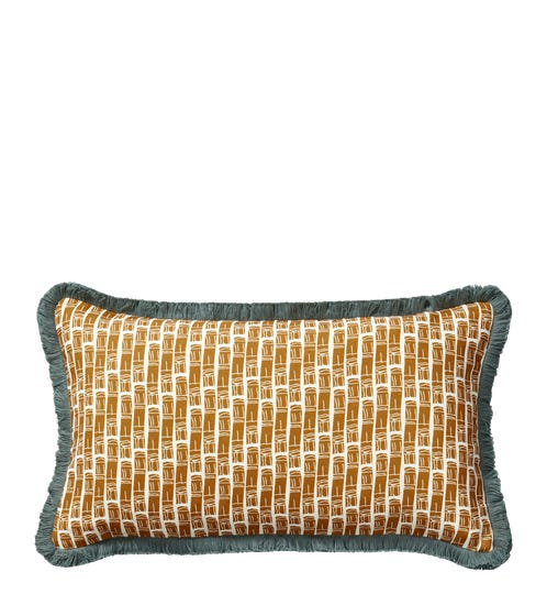 Bamboo Sequence Pillow Cover(60x35cm) - Ochre