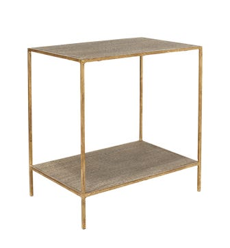 Baricella Side Table - Light Grey