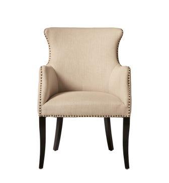 Beardon Armchair -Sand Wide Herringbone