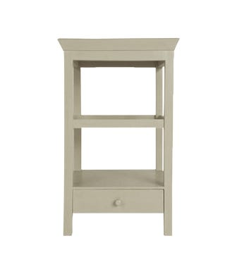 Beauvais Wood Bedside - Dove Grey