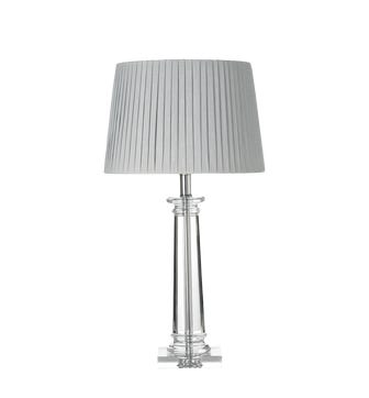 Bellano Glass Table Lamp - Clear