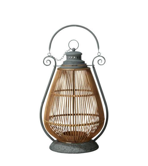 Benoa Floor Lantern - Natural